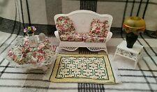 Vintage Barbie Furniture Set - White, 1990s