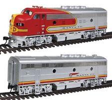 Escala H0 - Set locomotoras diesel F3 de Santa Fe DCC + Sonido - 41274 NEU