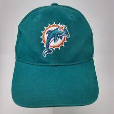 Miami Dolphins NFL Team Apparel throwback logo adjustable sizing hat cap 7b5e8a48e