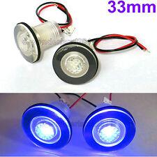 1 Pair 12V Waterproof LED Courtesy Light  Bait Tank/Garden/Boat Tank Lamp Blue