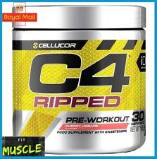 Cellucor C4 Ripped Explosive Pre Workout & Fat Burner Formula 180g 30 SERV