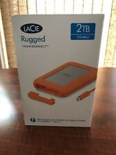 LaCie Rugged 2TB Thunderbolt External USB 3.0 Portable Hard Drive Mod # 900489