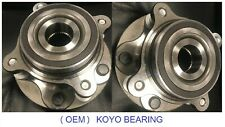 FRONT Wheel Hub & KOYO Bearing Assembly Fit 08-11;2013-2015 LEXUS LX570 4WD PAIR