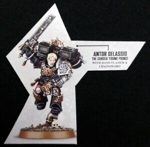 Flesh Tearer Flamer Pistol Deathwatch Cassius Assault Marine Blood Angels 40K