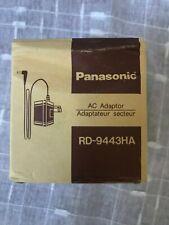 Panasonic Rd-9443Ha 3 Volt 300ma (Black Tip) Ac Power Cord Adapter.