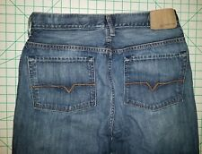 Guess 34 x 31 THE DEAN straight Jeans classic blue denim pants mens