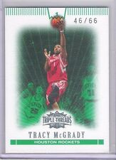 2008 Topps Triple Threads Tracy McGrady Insert Card # 1 46/66 Made
