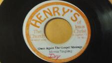 "MYNRA TINGLING "" Once Again the  Gospel Message  "" Islands  Gospel Soul 45 Glory"