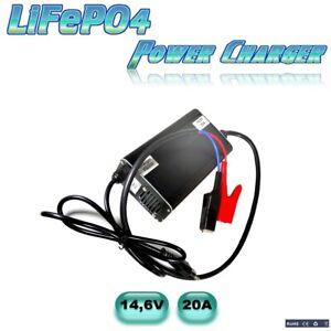 """20A Power-Charger Ladegerät für 4S LifePo4 Akkus 12V """" Jetzt Neu mit 2 Lüftern"""""""