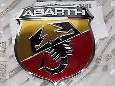 Fiat 500 Abarth Front Grille Bonnet Badge Emblem New Genuine Part 735496478