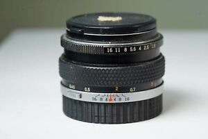 Olympus 50mm F 1.8 Om System Zuiko Auto S Lens