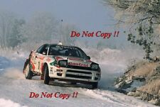 Juha Kankkunen & Nicky Grist Toyota Celica Turbo 4WD RAC Rally 1993 Photograph 1