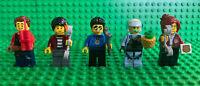 Lego City Advent Calendar Duke Harl Freya Rooky Daisy 5 Minifigures Lot 60268
