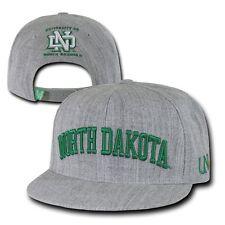 University of North Dakota UND Sioux NCAA Flat Bill Snapback Baseball Cap Hat