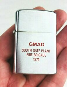 1974 GMAD South Gate Plant Barlow Lighter Vintage General Motors Auto *Mo49