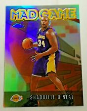2001-02 Topps Chrome Mad Game Refractor Shaquille O'neal Los Angeles Lakers