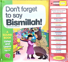 Don't Forget to Say Bismillah: A Sound Book, Listen and Learn (Desi Doll)