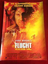Flucht aus L. A. Kinoplakat Poster A1, Russell, Die Klapperschlange, Carpenter