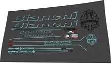 Bianchi Specialissima 2016  DECAL SET