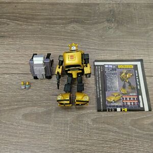 Authentic Takara Tomy Transformers Masterpiece MP-21G Bumblebee G2 Goldbug US