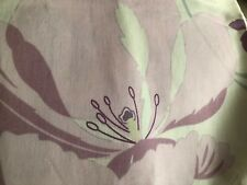 """Large Beautiful Floral Fabric Remnant. 64"""" X 64"""""""