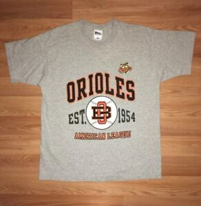 1997 Baltimore Orioles American League s/s t-shirt adult XL by PRO PLAYER