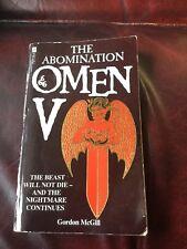 Omen V Paperback First Edition 1985