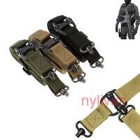"Quick Detach QD 1 or 2 Point Nylon Multi 1.2"" Rifle Sling Strap Band Adjustable"