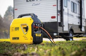 Champion 2000-Watt Ultralight Portable Gas Inverter Generator, Quiet, NEW In Box