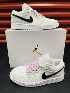 Nike Wmns Air Jordan 1 Low SE Size 10.5 'Barely Green' (CZ0776-300) *Free Ship*