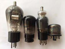 RENS1204 Telefunken + Valvo KC1 + Raytheon 6A7 + ECH11 Vintage Tubes Rare