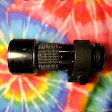 Nikkor/Nikon ED IF 300mm F4.5 Manual Focus Lens!
