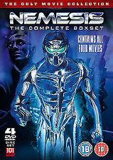 Nemesis 1 to 4 Complete Movie Boxset DVD NEW DVD (101FILMSBOX09)