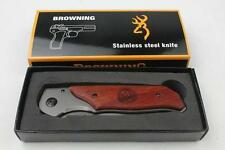 Browning Air force DA30 pocket folding knife with belt clip,hunting,camping