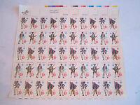 (4) .13C MINT 1976 U.S. STAMP SHEETS & (3) .10C  STAMP SHEETS - FACE $41. -BN-10