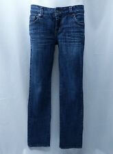 Chip & Pepper Steamer Lane Skinny Designer Jeans Women's Junior Size 9 Dark Wash
