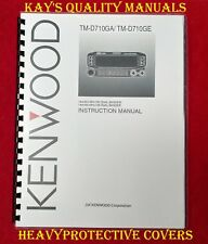 High Quality Kenwood TM-D710GA/GE Instruction Manual😊C-MY OTHER MANUALS😊