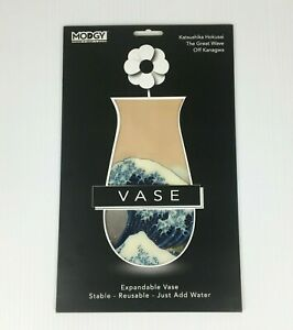 Modgy Expandable Vase - Katsushika Hokusai The Great Wave Off Kanagwa