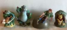 Disney Magic Thimble Collection Lot Of 4-Ariel-Baloo-Hunchback-W innie The Pooh
