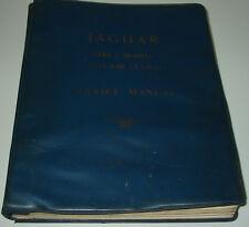 Werkstatthandbuch Jaguar Mark 2 II 2.4 / 3.4 3.8 Type Service Manual 1959-1969!