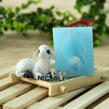 Handmade Soap Mold Alpaca Chocolate Mold Diy Grass Mud Horse Soap Silicone Mold