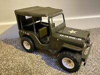 Tonka Jeep G-452-8 1970s US Army Pressed Steel Toy Rare Collectable GI Joe Roof