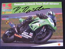 Kawasaki Schnock Team ZX-6R IDM SS600 2009 #12 Roman Raschle (SUI) Signed