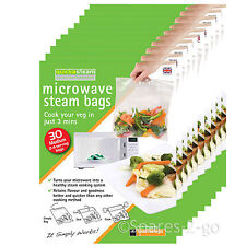 Quickasteam Support micro-ondes Vapeur Cook Sacs X 300