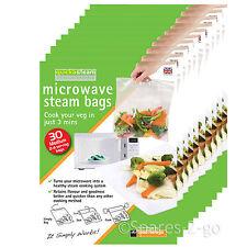 QUICKASTEAM Medium Vapore A Microonde cucinare da 300 Sacchetti