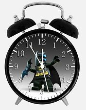 "Lego Batman Alarm Desk Clock 3.75"" Room Decor Y29 Nice for Gifts wake up"