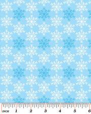 BENARTEX - SHADOW SNOWFLAKE SKY QUILT FABRIC - SNOW DAYS