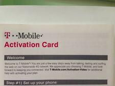 T-Mobile Prepaid Activation Code - T mobile Activation Kit t mobile (NO SIM)
