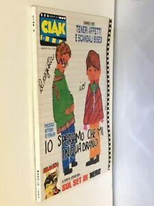 (mag) rivista cinema CIAK Maggio 1992 sul set di Nero Sclavi / Dylan Dog