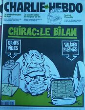 Charlie View No 432 September 2000 Riss Chirac: the Bilan